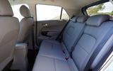 Kia Picanto rear seats