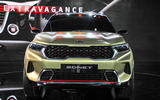 New Delhi Auto Expo 2020 - Kia Sonnet nose