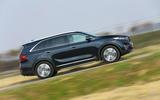 Kia Sorento CRDi GT-Line S 2018 review side profile