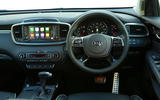 Kia Sorento CRDi GT-Line S 2018 review dashboard