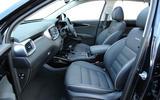 Kia Sorento CRDi GT-Line S 2018 review cabin