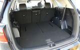 Kia Sorento CRDi GT-Line S 2018 review boot space rear seats folded