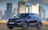 Kia Sorento CRDi GT-Line S 2018 review static front