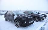 Kia XCeed prototype testing