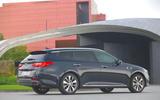 Kia Optima Sportwagon rear quarter