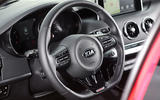Kia Stinger GT steering wheel