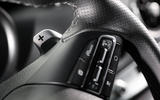 Kia Stinger GT paddle shifters