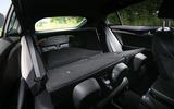 Kia Stinger GT seats folded down
