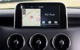 Kia Stinger GT infotainment system