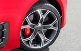 Kia Stinger GT alloy wheels