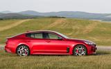 Kia Stinger GT side profile