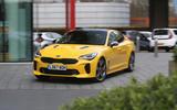 Kia Stinger GT S long-term review action front