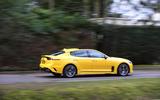 Kia Stinger GT S long-term review action side