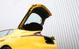 Kia Stinger GT S long-term review boot open
