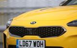 Kia Stinger GT S long-term front bumper