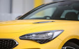 Kia Stinger GT S long-term review headlights