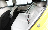 Kia Stinger GT S long-term review rear seats