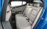 Kia Stinger rear seats