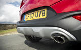 Kia Stonic rear diffuser