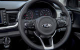Kia Stonic steering wheel