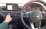 Kia Ceed Lawrence Allan button pressing