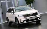 2020 Kia Sorento - static front