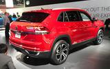 Volkswagen Atlas Cross Sport LA motor show