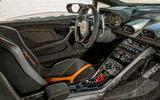Lamborghini Huracan Performante dashboard