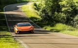 Lamborghini Huracan Performante on the road