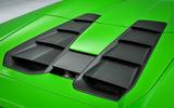 Lamborghini Huracán Spyder air vents