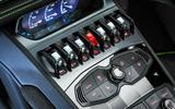 Lamborghini Huracán Spyder centre console