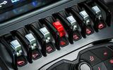 Lamborghini Huracán Spyder main switchgear