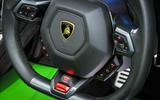 Lamborghini Huracán steering wheel
