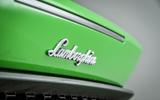 Lamborghini Huracán badging