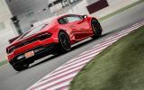 Lamborghini Huracan rear cornering