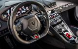 Lamborghini Huracan dashboard