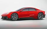 Lamborghini 4-door render