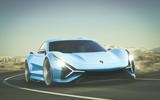 2025 Lamborghini electric GT, imagined by Autocar