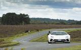 Lamborghini Aventador S cornering