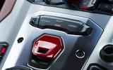 Lamborghini Aventador S ignition button