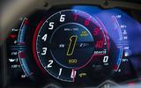 Lamborghini Aventador S instrument cluster