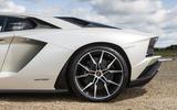 Lamborghini Aventador S rear alloys
