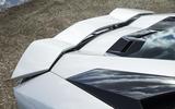 Lamborghini Aventador S rear wing
