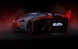 Lamborghini SC18 rear three-quarters