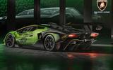 2020 Lamborghini Essenza SCV12 - rear