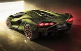 Lamborghini Sian reveal images - static rear