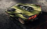 Lamborghini Sian reveal images - static roof
