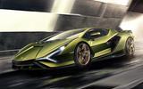 Lamborghini Sian reveal images - hero front