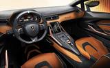 Lamborghini Sian reveal images - interior