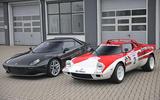Lancia Stratos and New Lancia Stratos